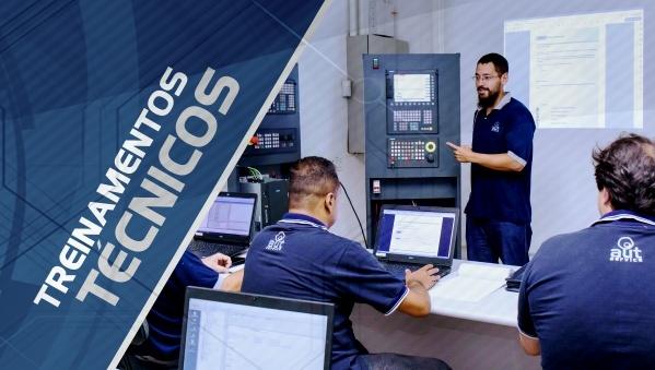 Treinamentos CNC SIEMENS AUT Service