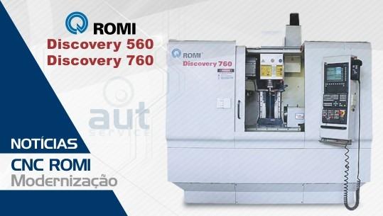 Modernização CNC ROMI